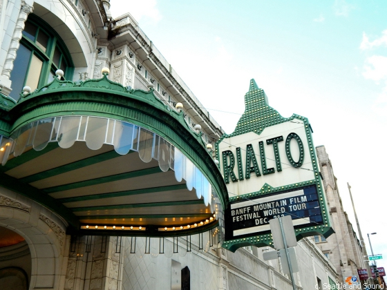 Rialto Theater, opened in 1918.