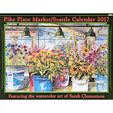 Pike Place Market/Seattle Calendar 2017