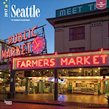Seattle 2017 Wall Calendar
