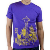 Seattle Skyline Tee by Choke Shirt Co.